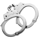 LawPro Professional Stainless Steel Handcuffs