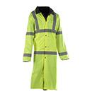 Liberty Uniforms Reversible ANSI 3 HI Viz Raincoat