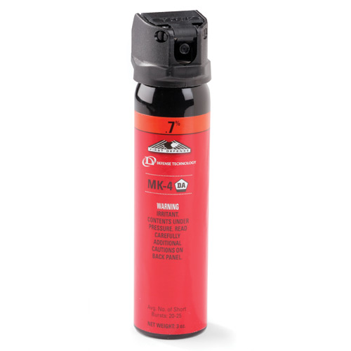 Defense Technology .7% MK-4 Stream OC Aerosol 3 oz.