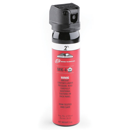 First Defense MK4 Police Size .2 Percent Pepper Spray