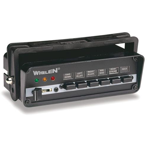 , , Whelen 9 switch power control center item se009 mfg pccs9n whelen