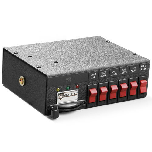 Galls Nine-Function Switch Box withThree-Position Slide Swit