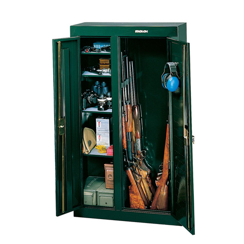 Stack-On Products Security Plus 10 Gun Double Door Cabinet