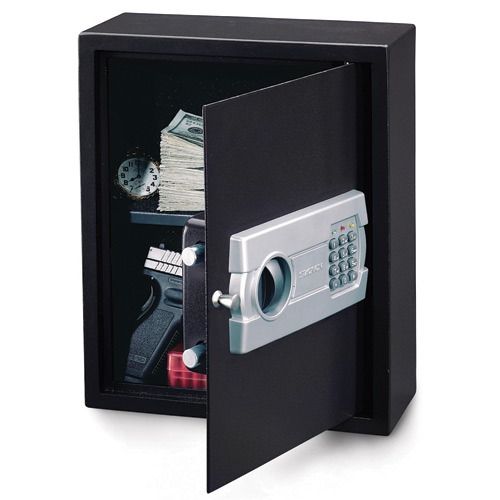 Stack-On Products Drawer/Wall Strong Box Safe with Electroni
