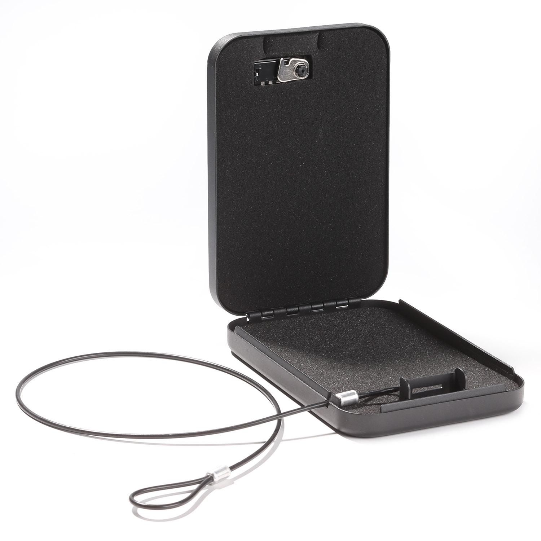Car Gun Safe Portable With 3 Dial Combination