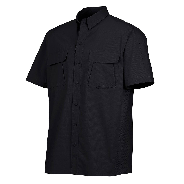 Dickies short sleeve ripstop tactical shirt for Dickies short sleeve plaid shirt