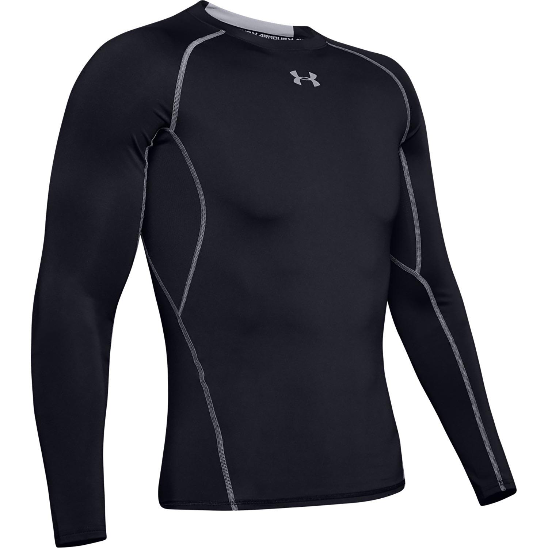 Under armour heatgear armour long sleeve compression shirt for Under armour half sleeve shirt
