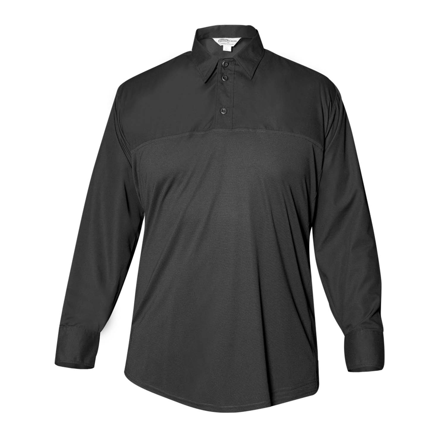 Flying Cross Men's Long Sleeve Polyester Hybrid Performance