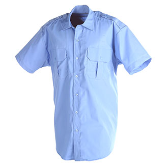 DutyPro Short Sleeve Poly Cotton Traditional Style Shirt
