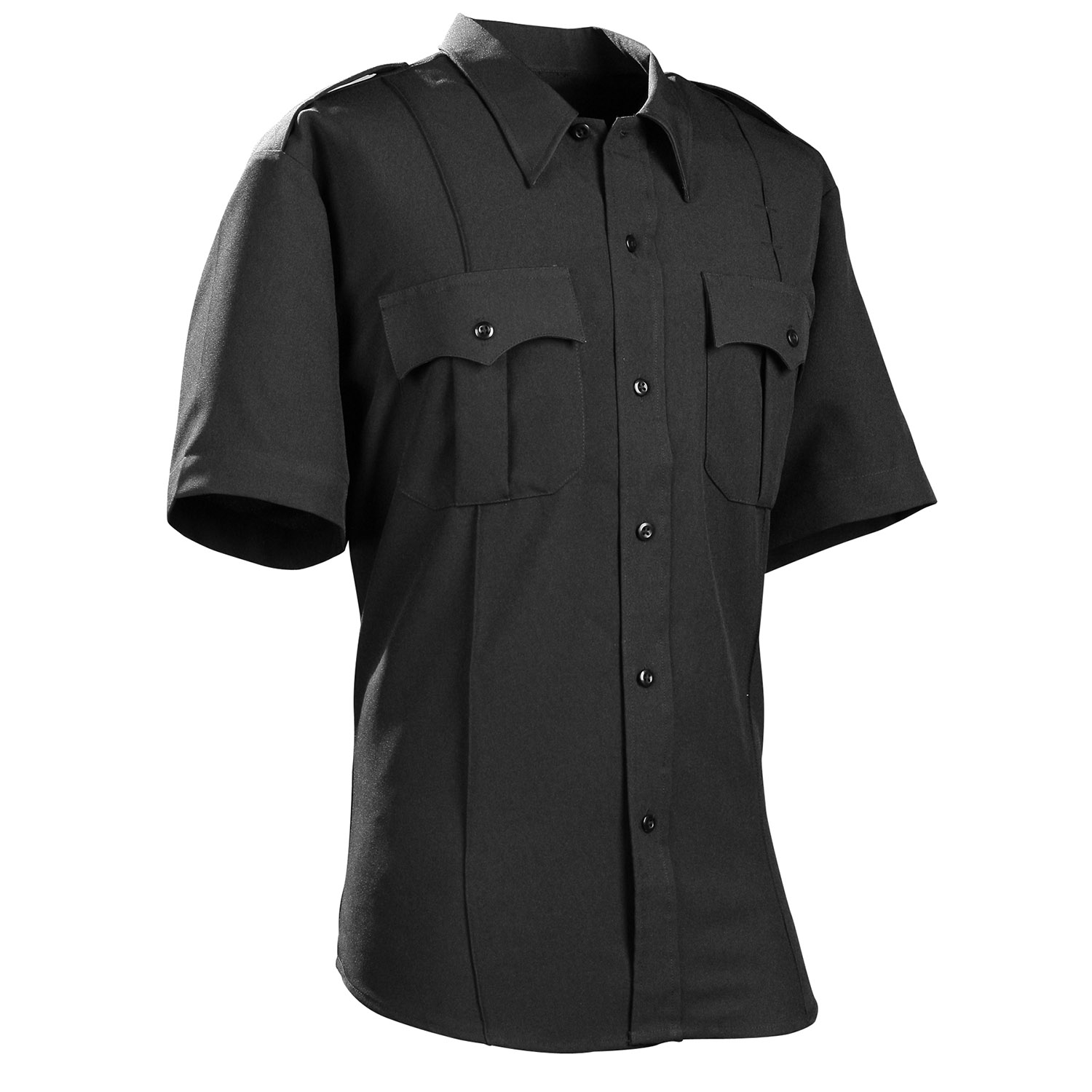 DutyPro Short Sleeve Polyester Solid Men's Shirt
