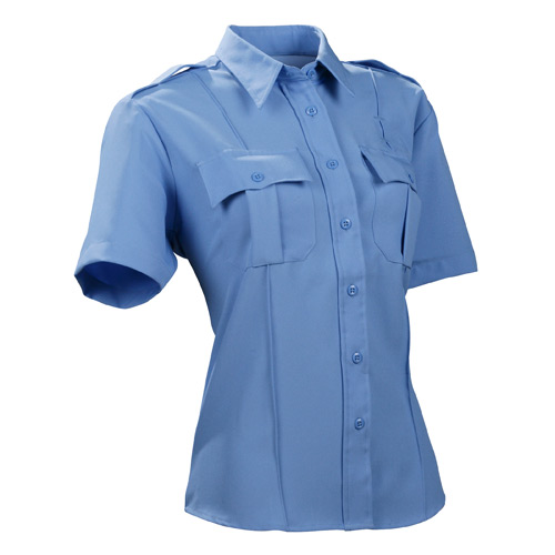 DutyPro Short Sleeve Polyester Solid Women's Shirt