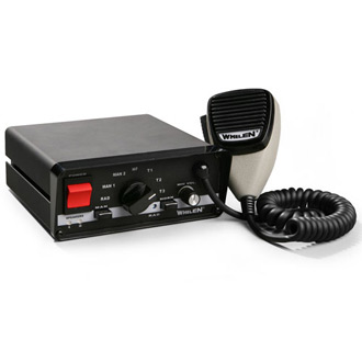 whelen engineering diagnostic-enabled siren with scan-lock tones � code  3