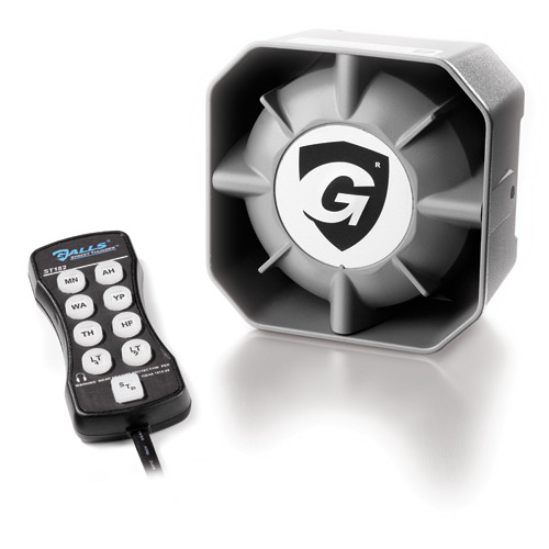 Galls Concealment Speaker and Street Thunder 100W Remote Sir