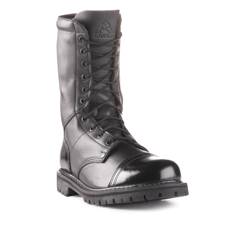 Rocky Mens 10 Quot Side Zipper Paratrooper Boot