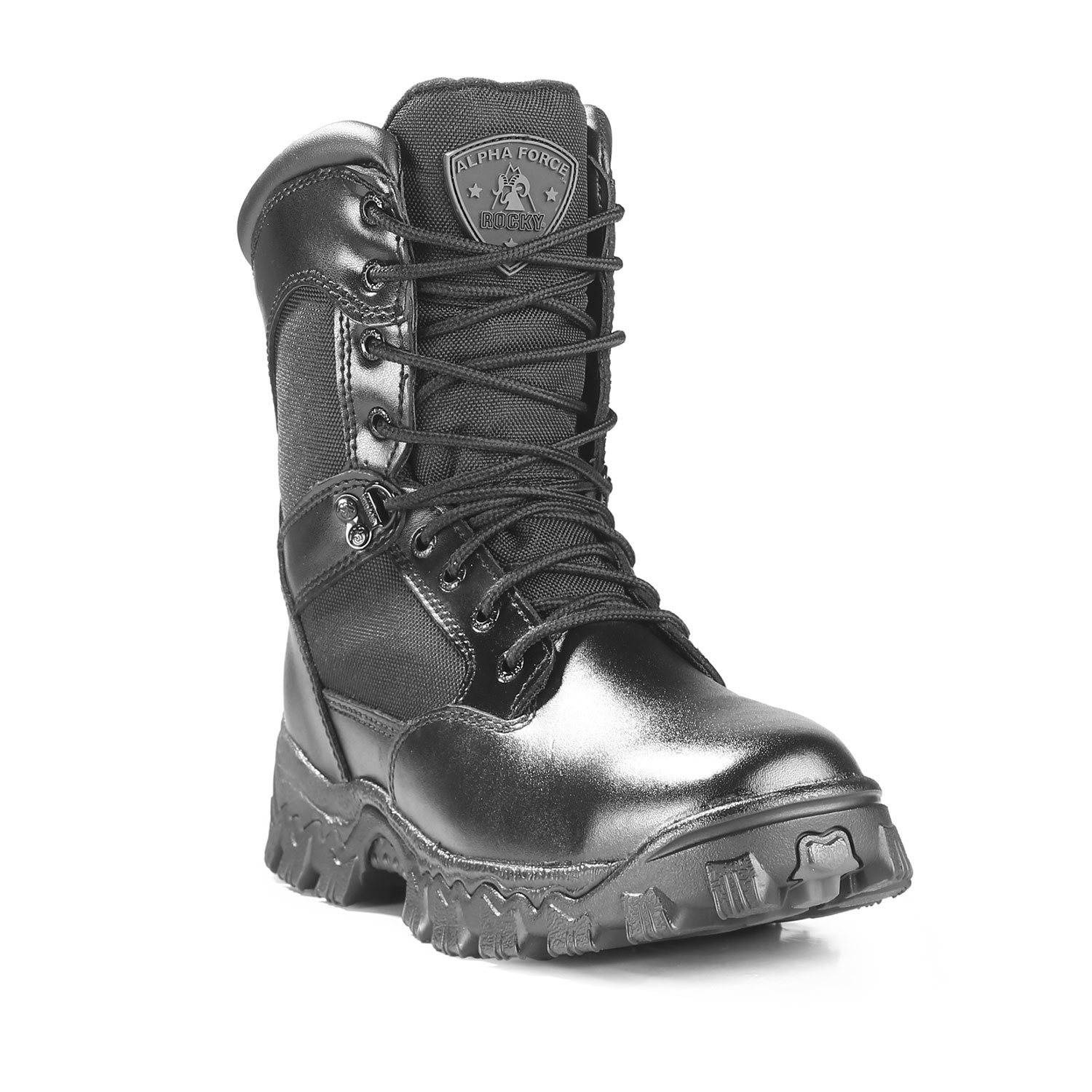"Rocky 8"" Alpha Force Waterproof Zipper Boot"
