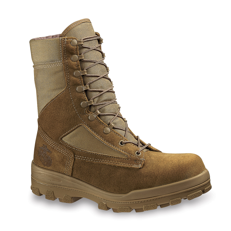 bates usmc durashock steel toe weather boot