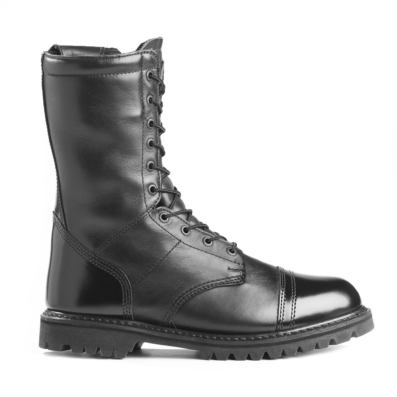 Rocky Mens 10 Inch Waterproof Side Zipper Paratrooper Boot A