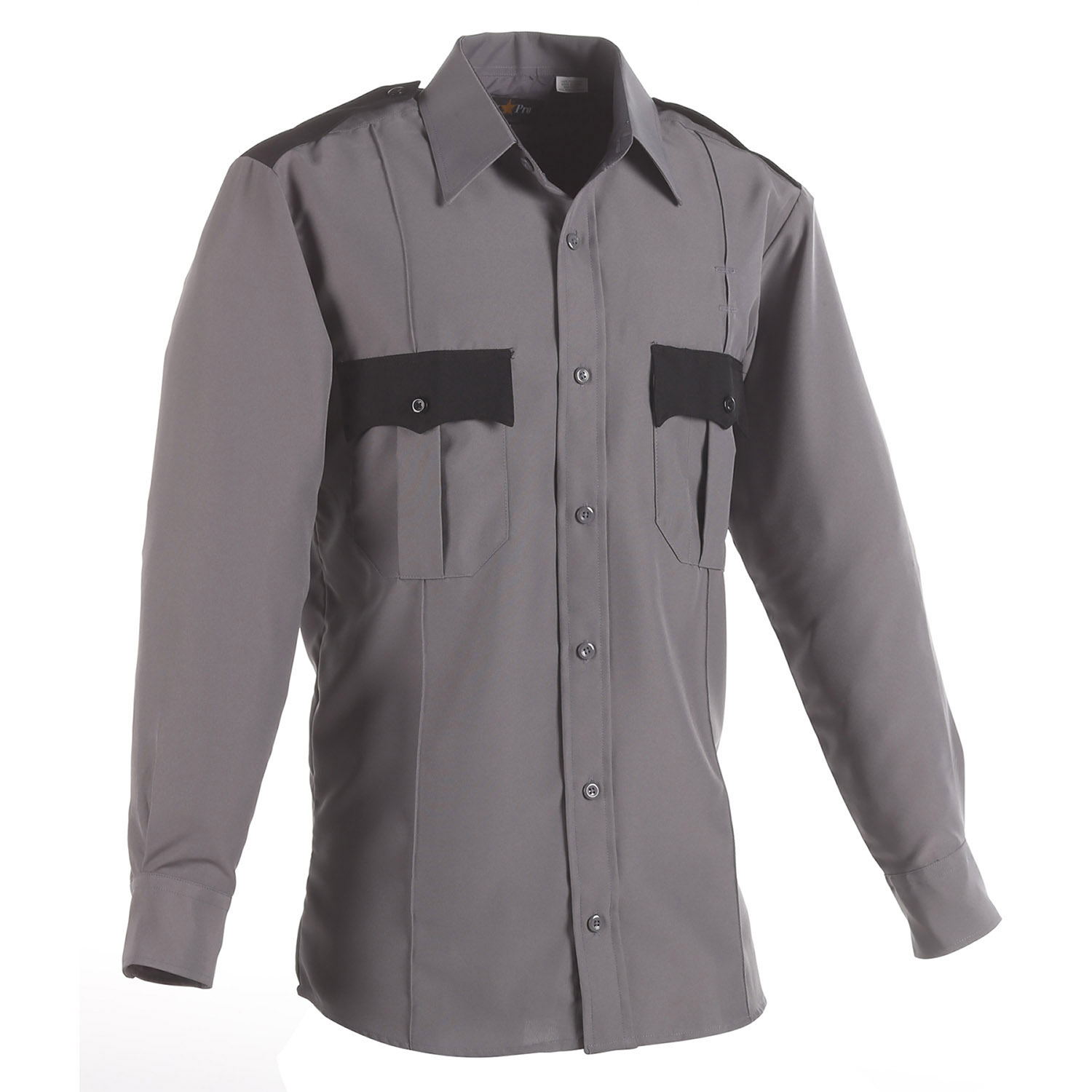 LawPro Polyester Two-Tone Long Sleeve Shirt