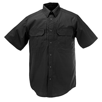 Elbeco Olive Green and Tan pockets Short Sleeve Law Enforcement Shirt