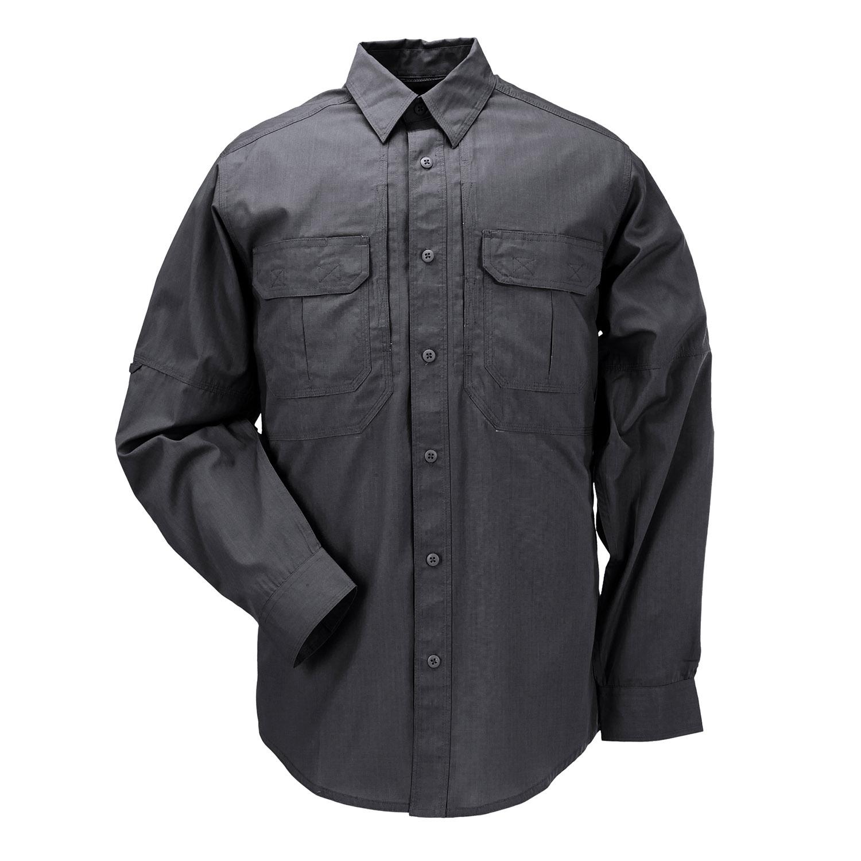 5.11 TACLITE PRO TACTICAL MENS SHIRT SECURITY PATROL SHORT SLEEVE RIPSTOP BLACK