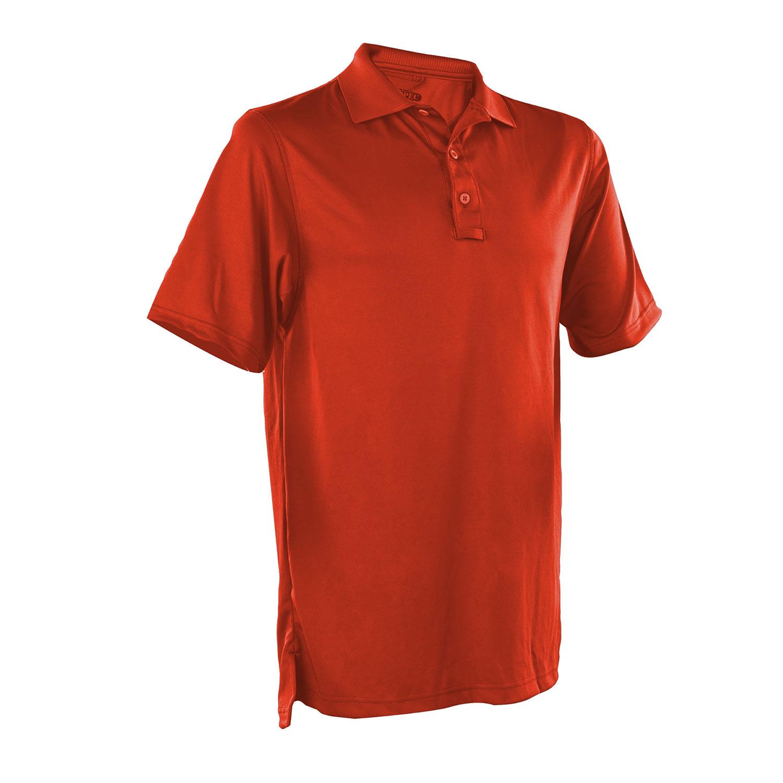 Mens Tru-Spec 24-7 Short Sleeve Polo Shirt Black