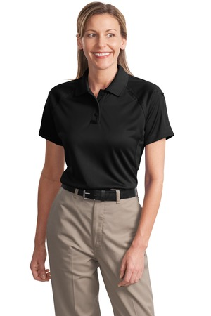 Ladies Cornerstone Select Snag-Proof Tactical Short Sleeve Polo