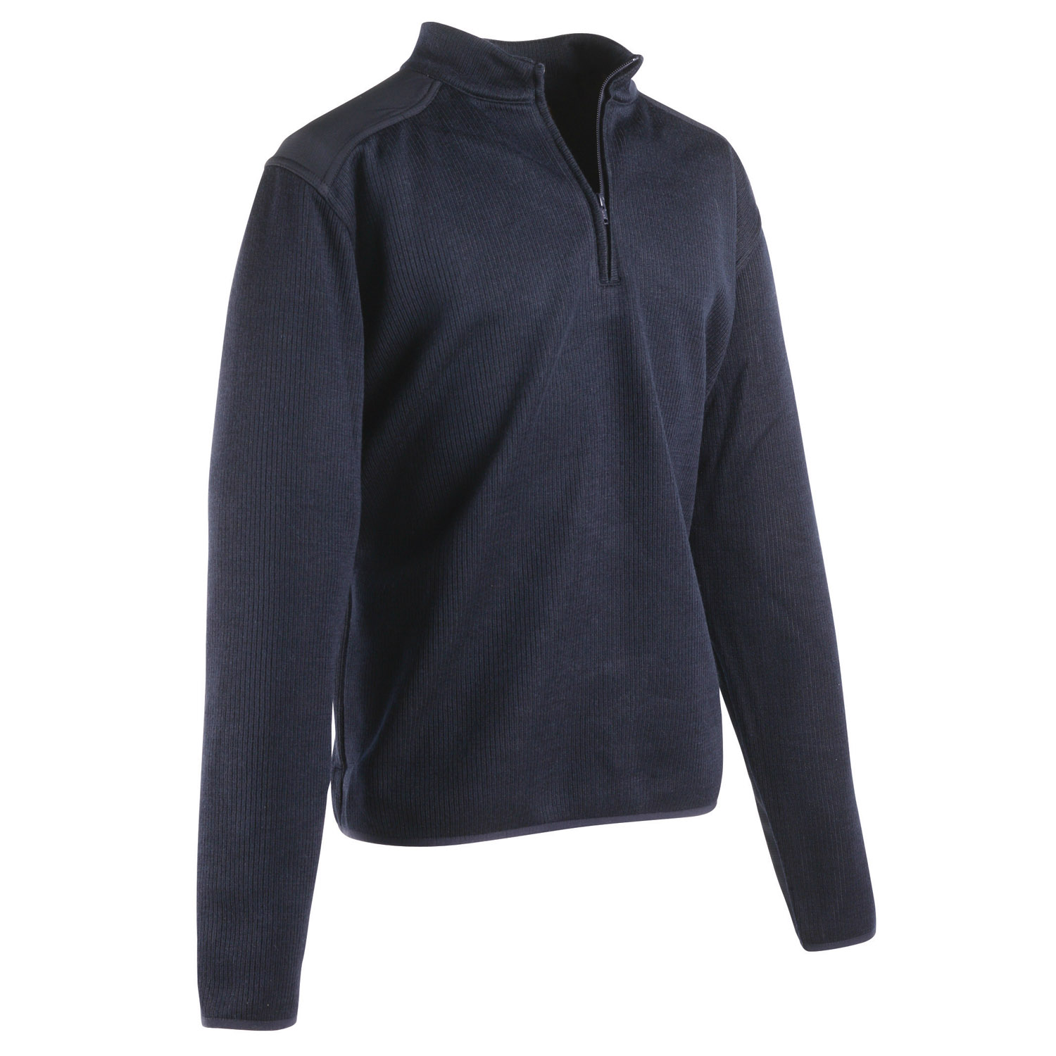 Flying Cross Fleece Lined Quarter Zip Commando Sweater