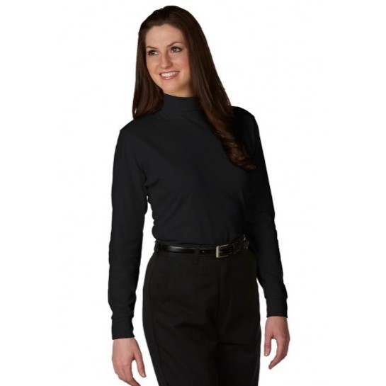 A+ Career Apparel Unisex Jersey Knit Turtleneck