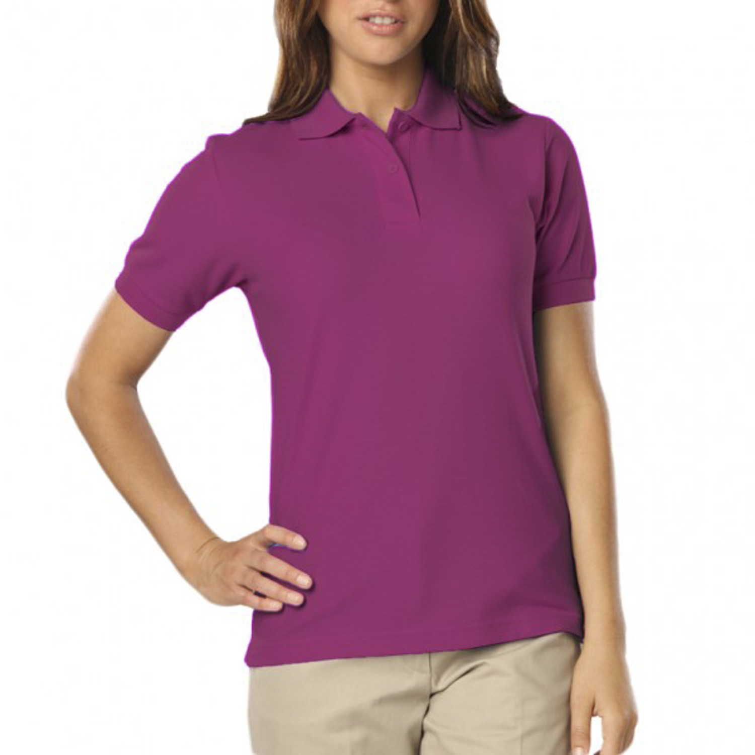 Blue Generation Ladies Soft Touch Polo