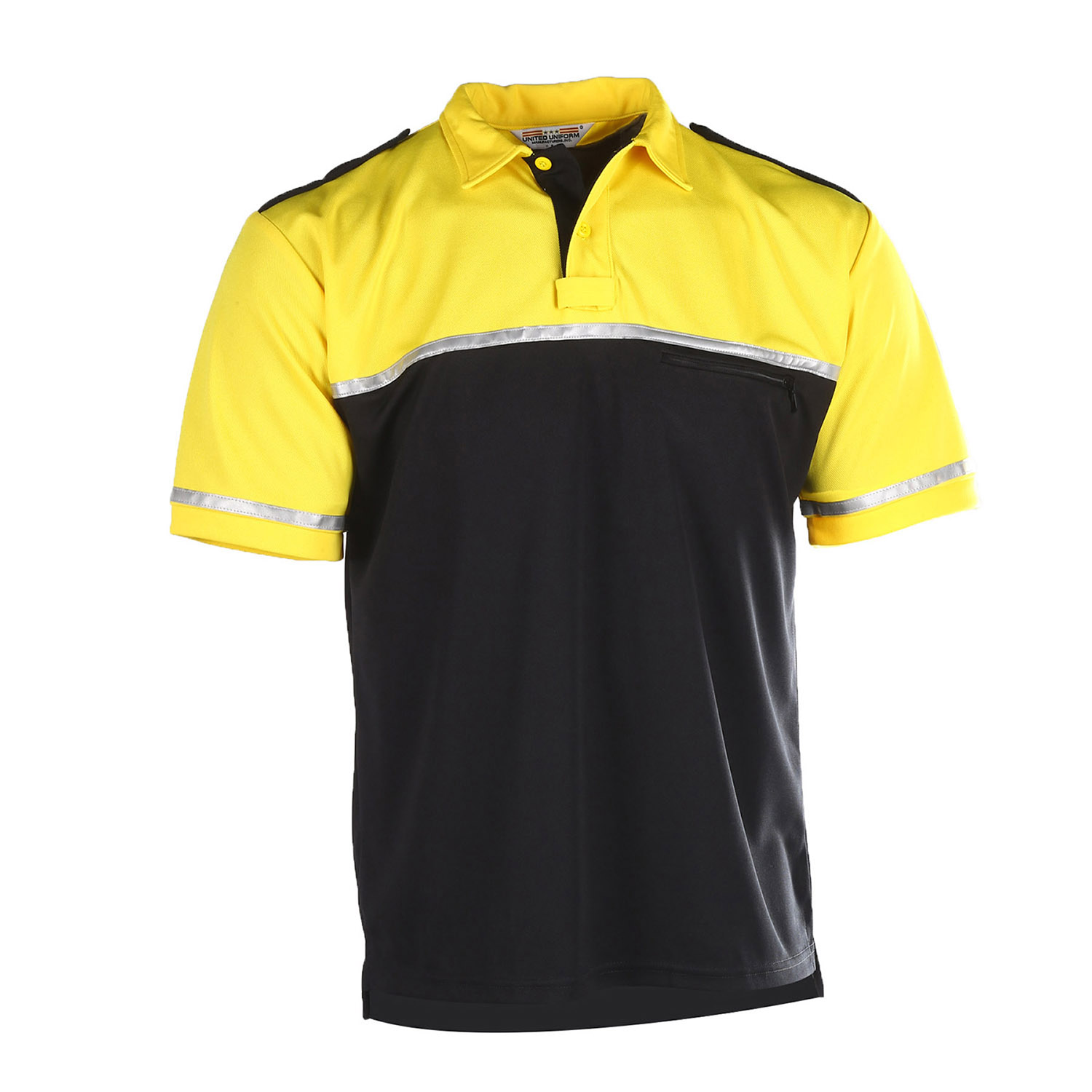 United Uniform Two-Tone Bike Polo