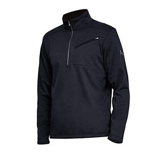 New Men/'s Under Armour Gamut 1//4 Zip Grey Black 1259550 025 Size XL
