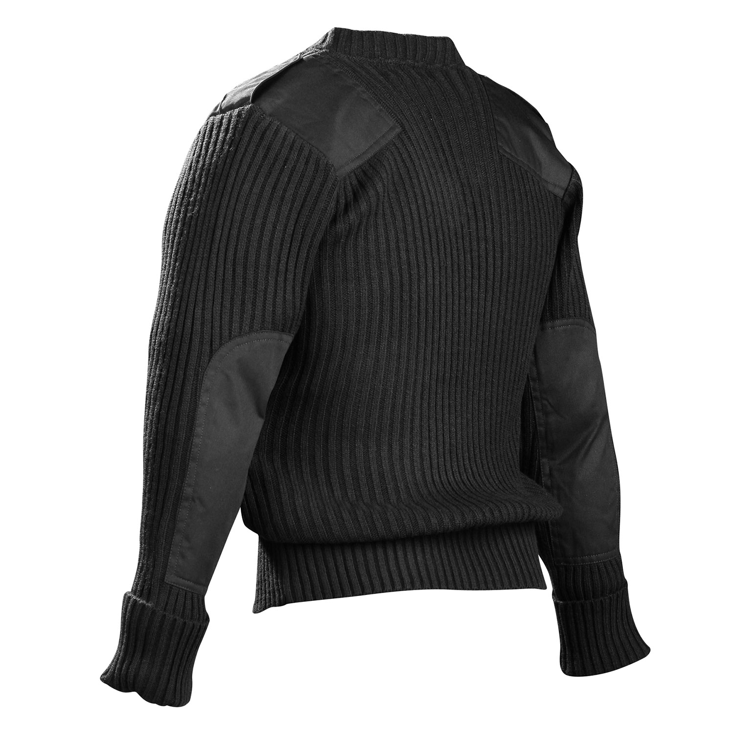 HIGHLANDER V NECK PULLOVER TACTICAL SECURITY MILITARY FORCES ACRYLIC SWEATER