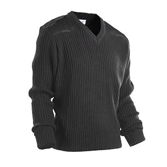 Galls Commando V Neck Acrylic Sweater