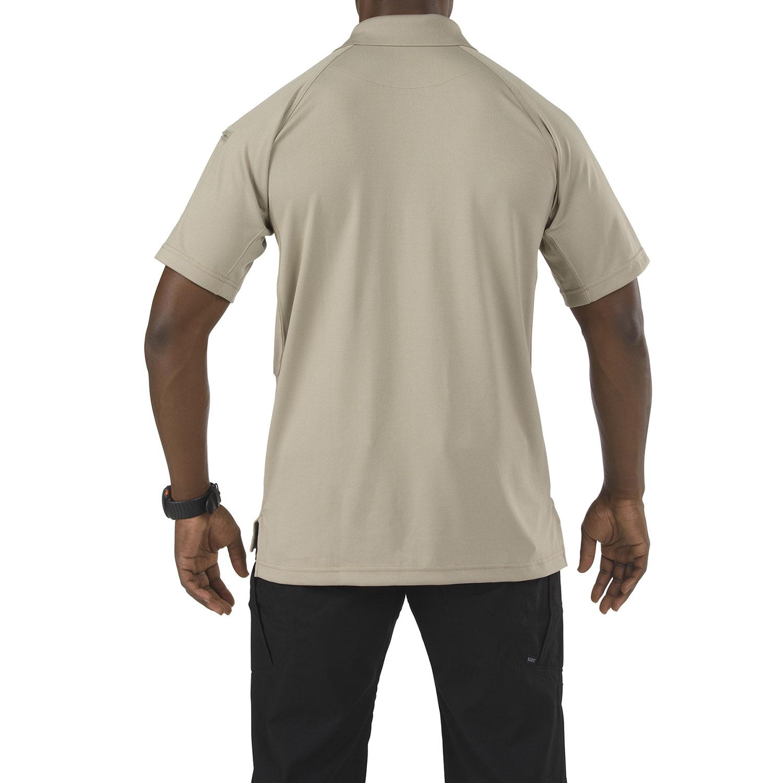 5.11 Men/'s Performance Short Sleeve Wrinkle Resistant Polyester Polo Shirt 71049