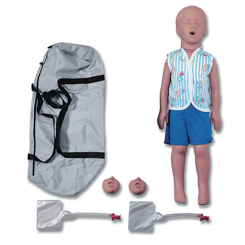 Simulaids Kyle 3 Year Old Manikin with Carry Bag
