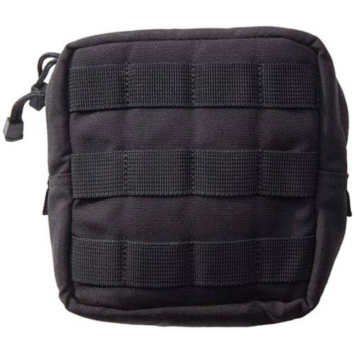 5.11 TACTICAL 58714 Padded Pouch,Black,Nylon,6 x 6 In