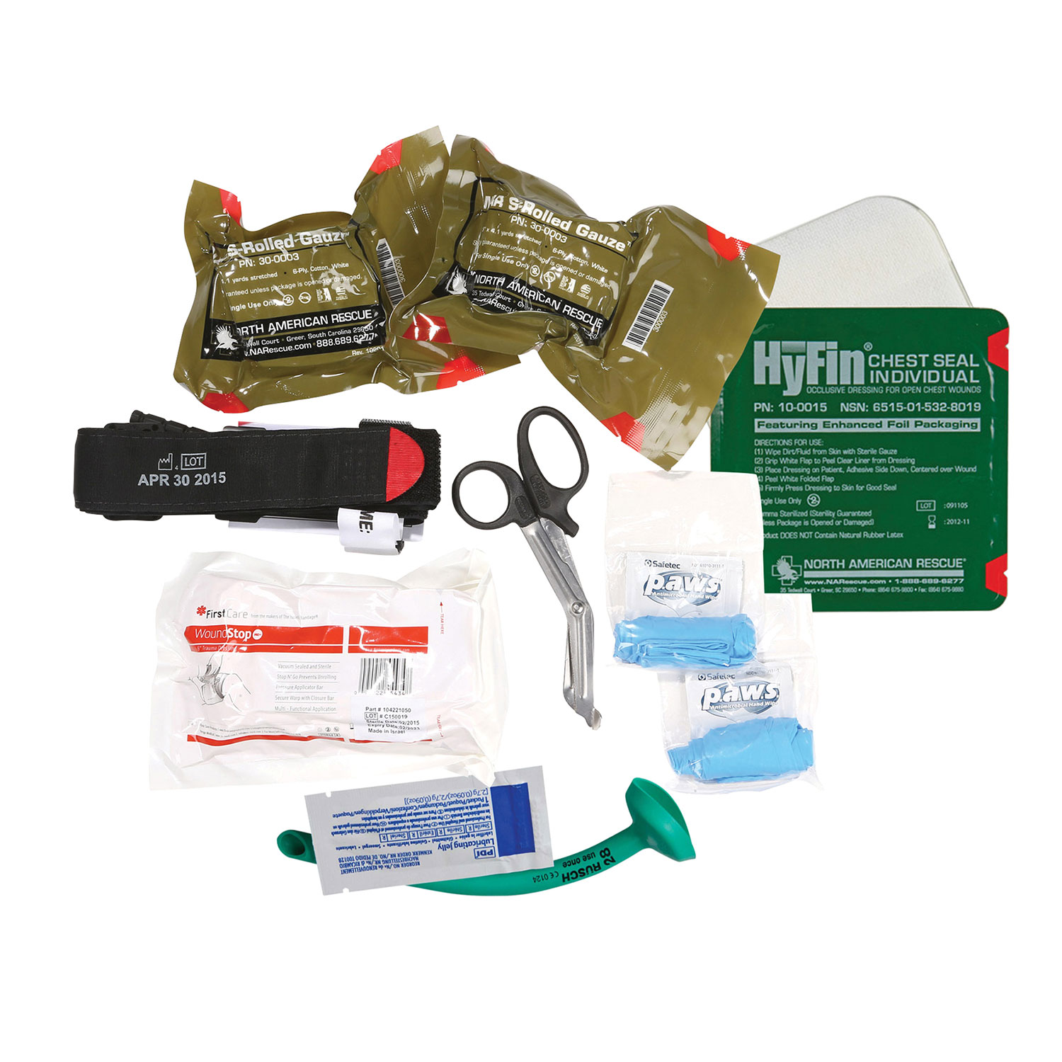 Dyna Med Deluxe Personal Bleeding Management Kit with C-A-T