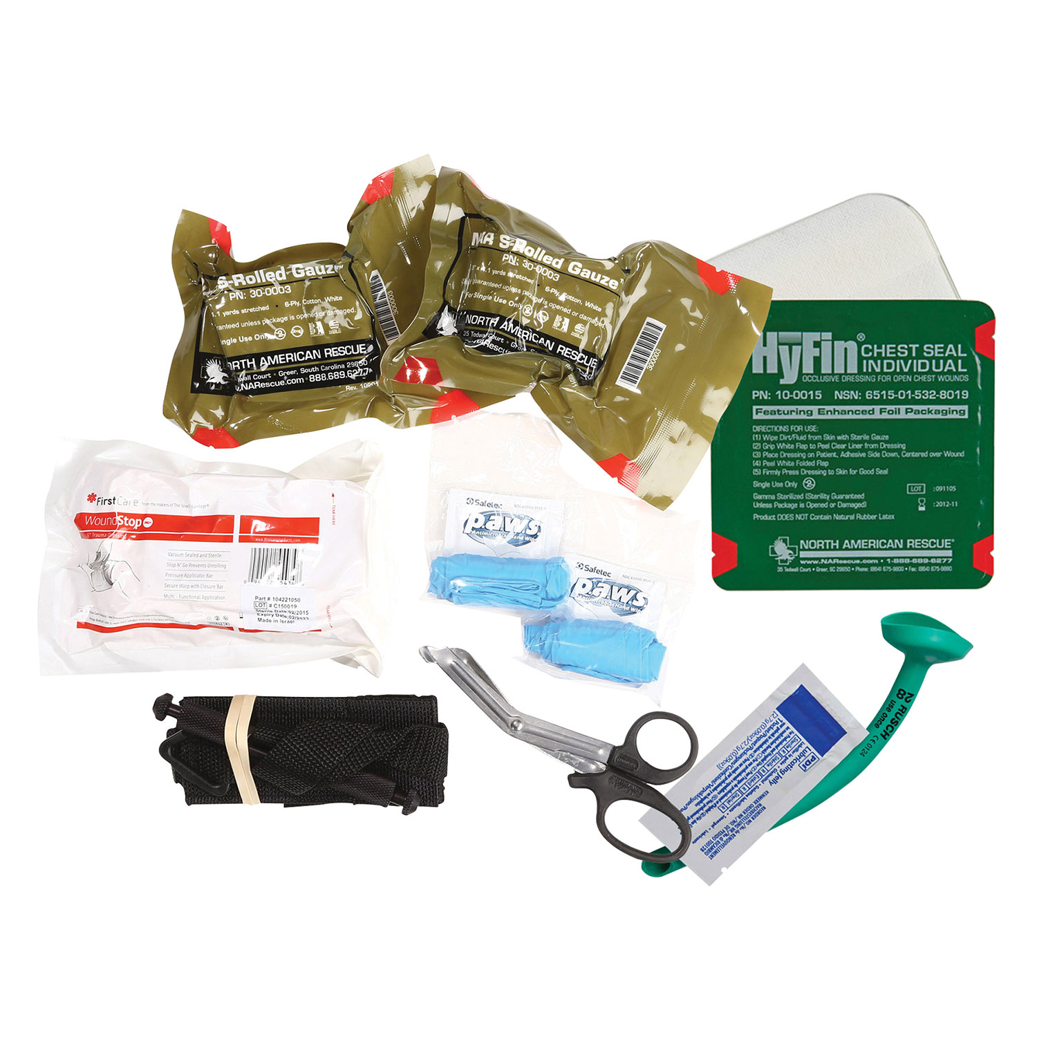 Dyna Med Deluxe Personal Bleeding Management Kit with SOF-T