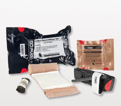 North American Rescue IPOK CG ChItogauze Kit