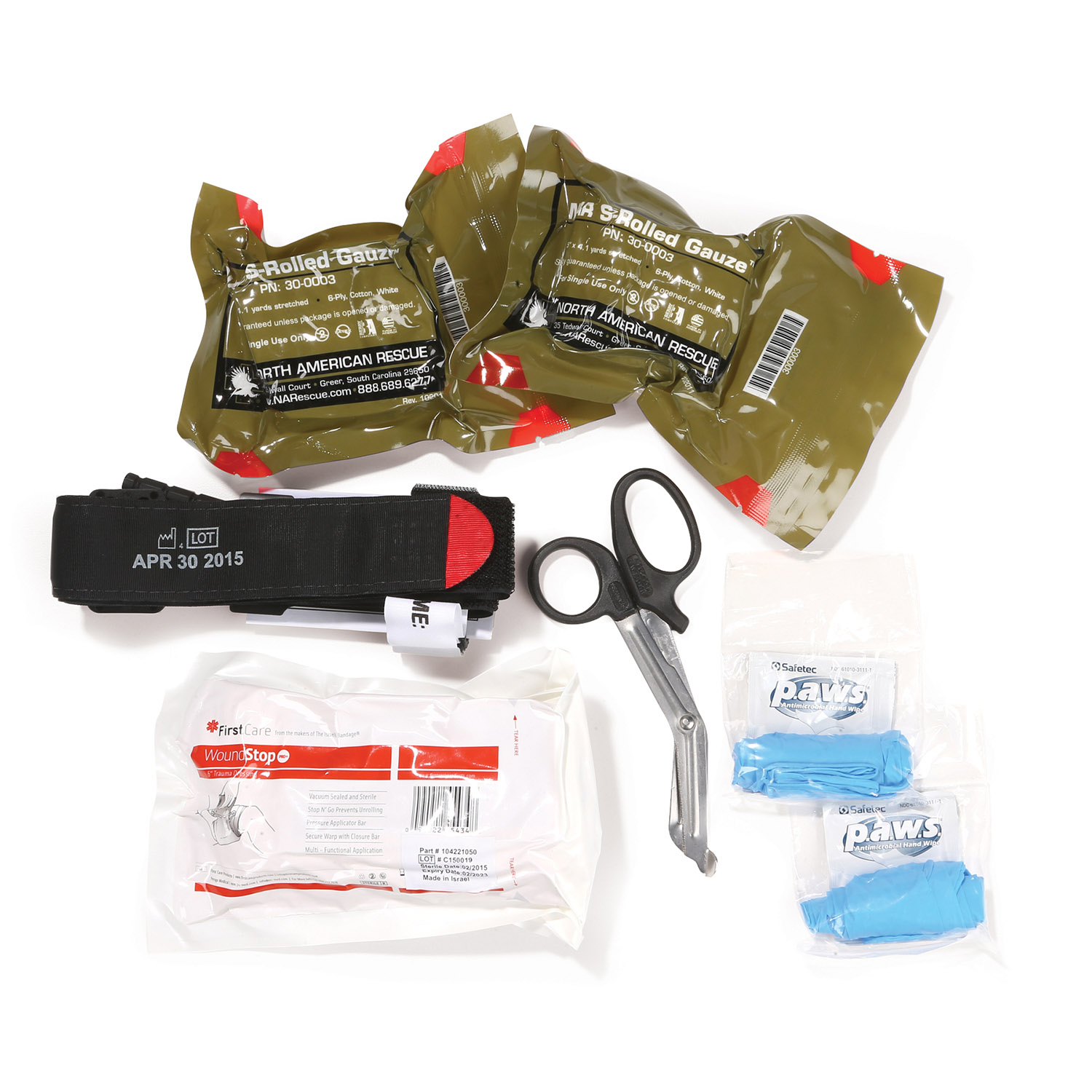 Dyna Med Personal Bleeding Control Kit With C A T Tourniquet