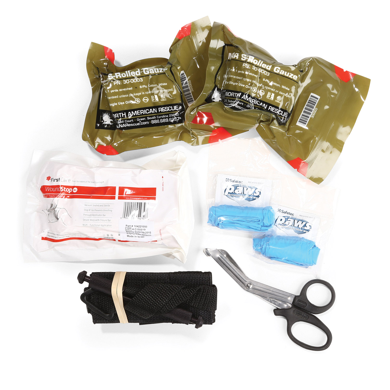 Dyna Med Personal Bleeding Management Kit with SOF-T