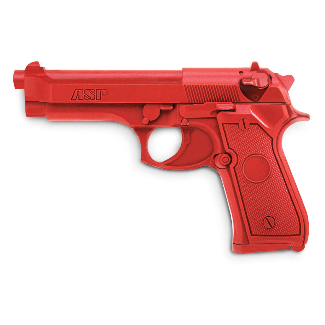 ASP Red Gun Actual Weight Training Gun Beretta 9mm