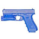 BlueGun Glock 17 with M3 Tactical Light Training Gun