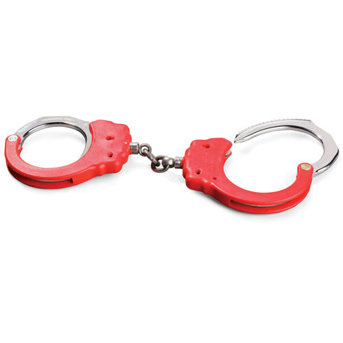 ASP Red Training Chain Handcuffs