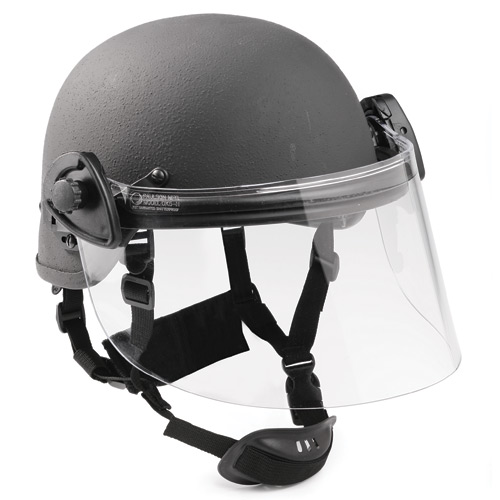 Max Pro Police IIIA Helmet with Face Shield