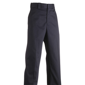 Flying Cross Men's Polyester Cotton Trousers with Flex Waist