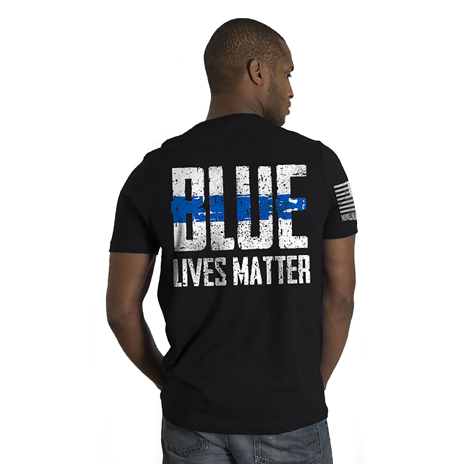 Nine Line Blue Lives Matter T-Shirt