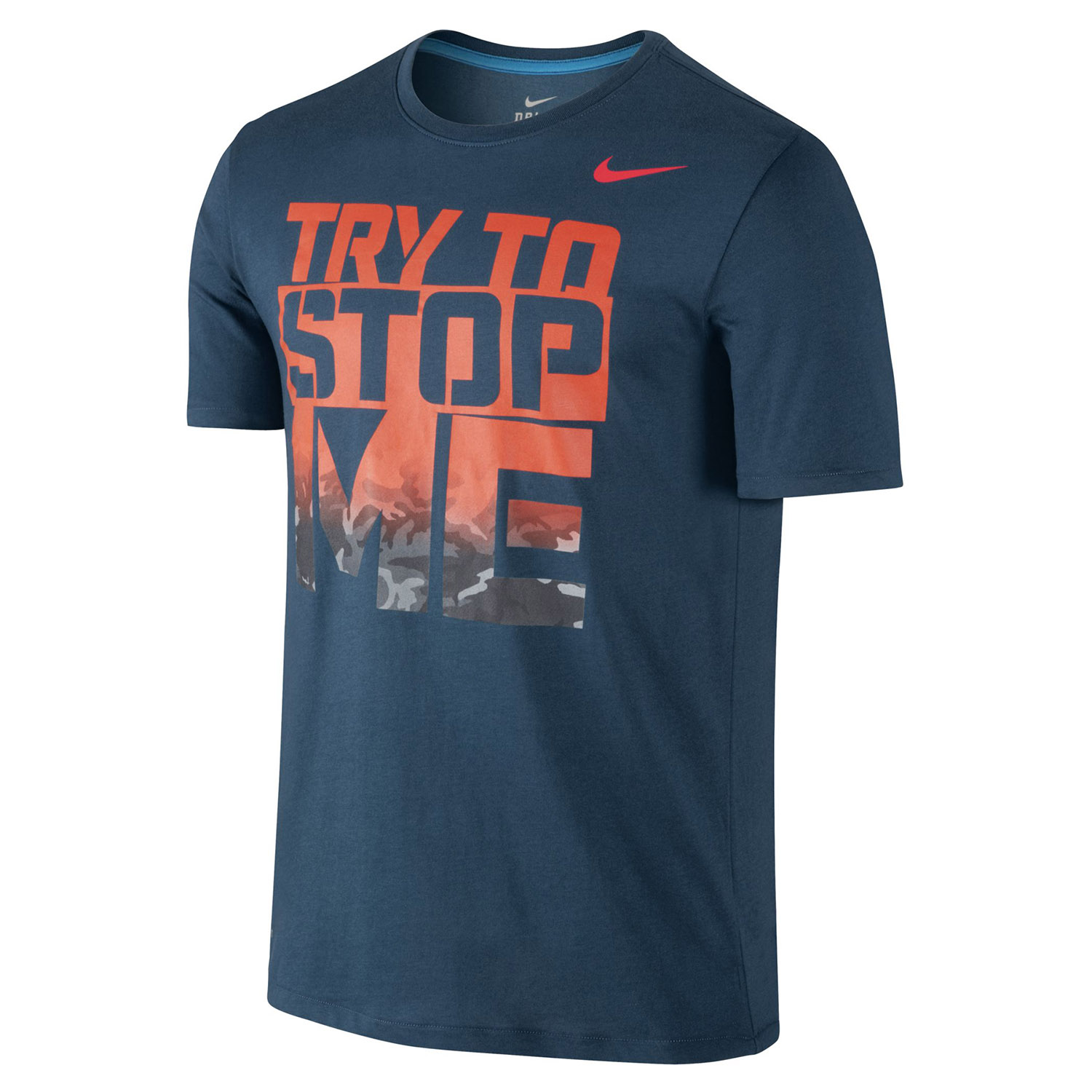 nike 39 try to stop me 39 t shirt. Black Bedroom Furniture Sets. Home Design Ideas