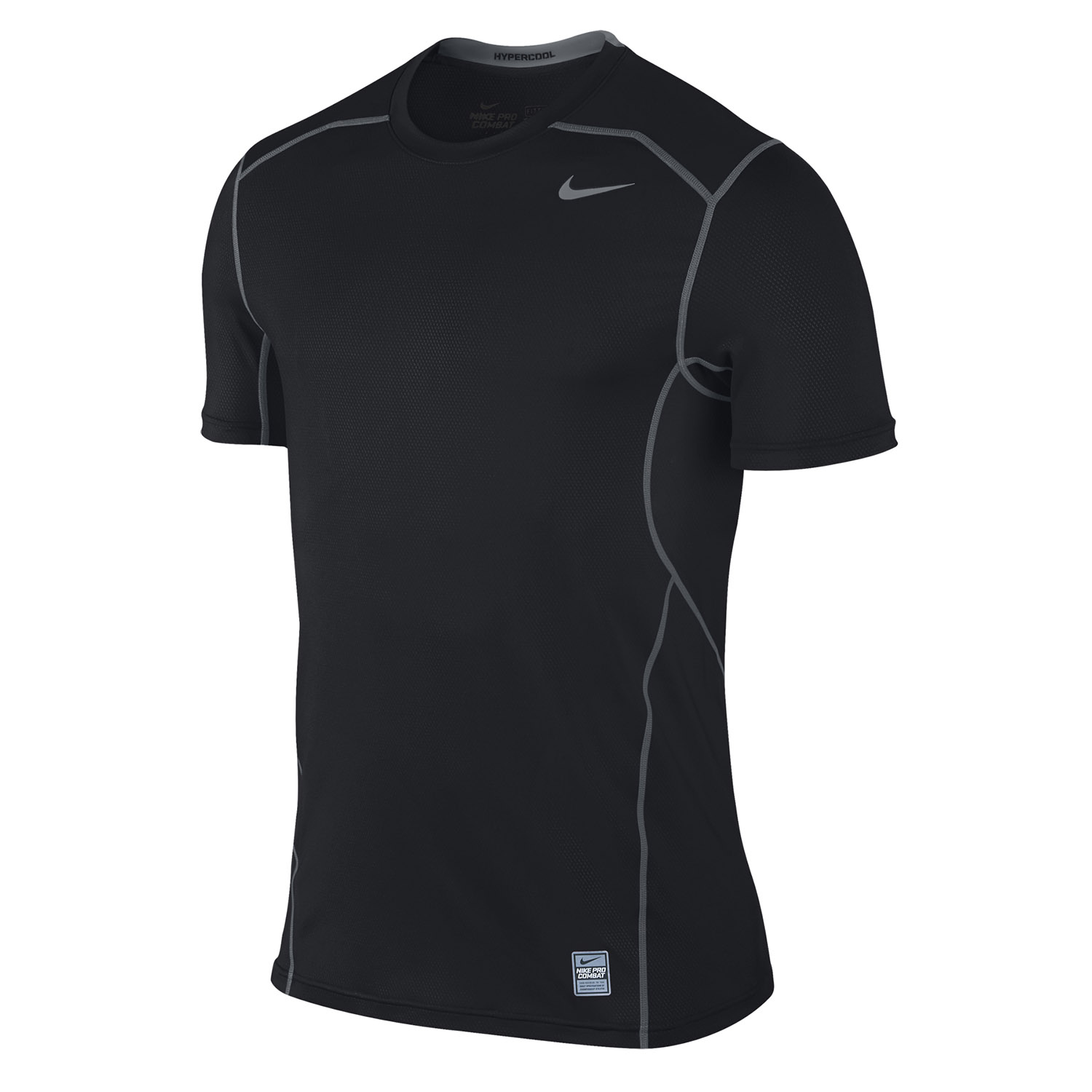 Nike Pro Combat Hypercool Fitted Short Sleeve 3 0 T Shirt At