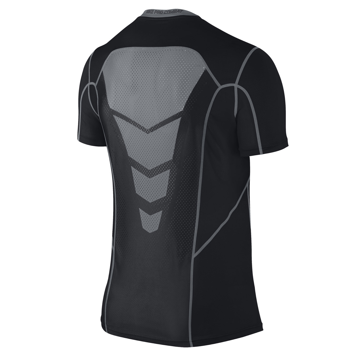 Nike pro combat hypercool fitted short sleeve 3 0 t shirt at for Nike short sleeve shirt